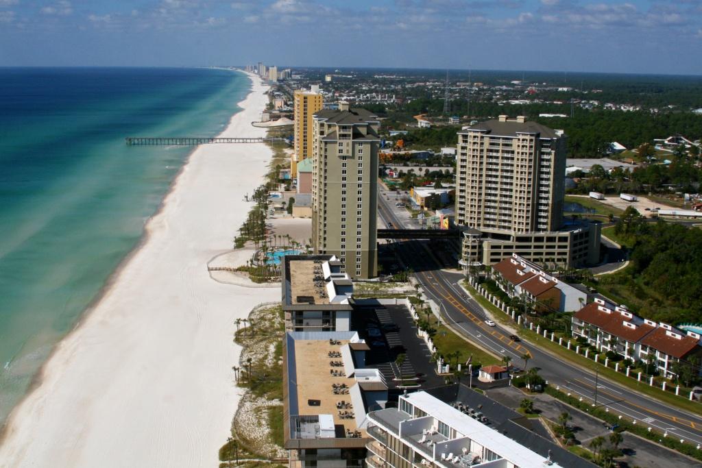 Gulf View Condos – 1 Bed/ 2 Bath In Panama City Beach - Map Of Panama City Beach Florida Condos