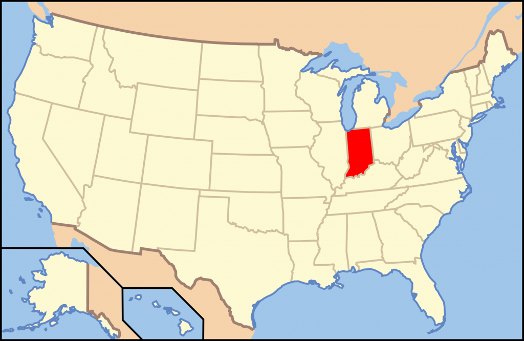 Gun Laws In Indiana - Wikipedia - Texas Reciprocity Map 2018