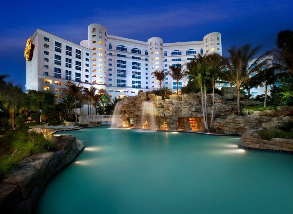 Hard Rock Hotel Hollywood, Fort Lauderdale, Fl - Booking - Map Of Seminole Casinos In Florida