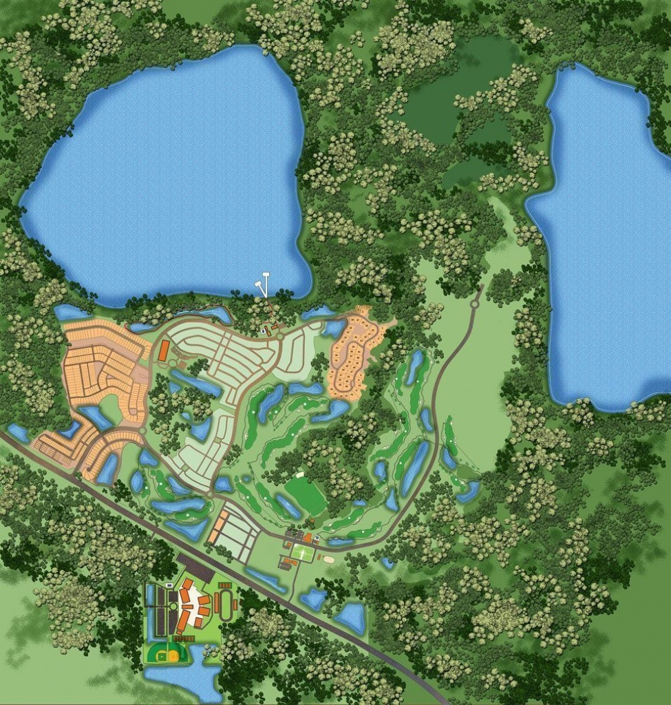 Harmonylakesmastersiteplan_Lores - Harmony, Fl - Harmony Florida Map