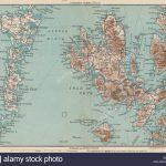 Hebrides Western Isles. Skye North & South Uist Rhum. Scotland, 1932   Printable Map Skye