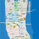 High-Resolution Map Of Manhattan For Print Or Download | Usa Travel – Printable Street Map Of Manhattan Nyc