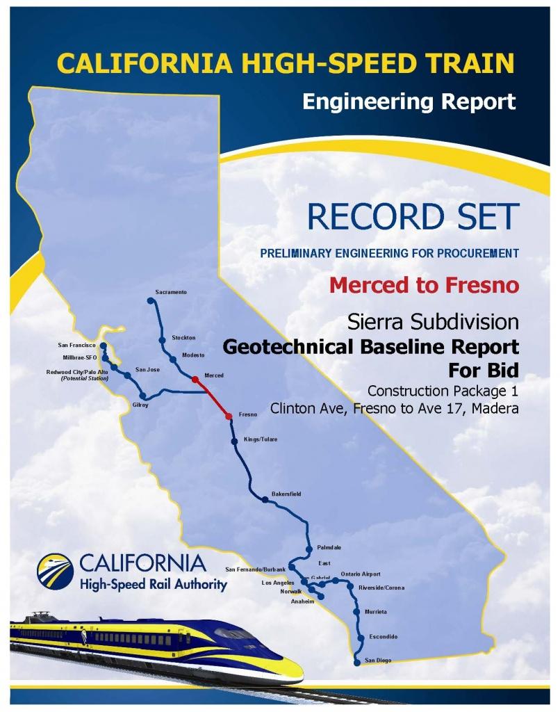 High Speed Rail California Map - Touran - California High Speed Rail Map