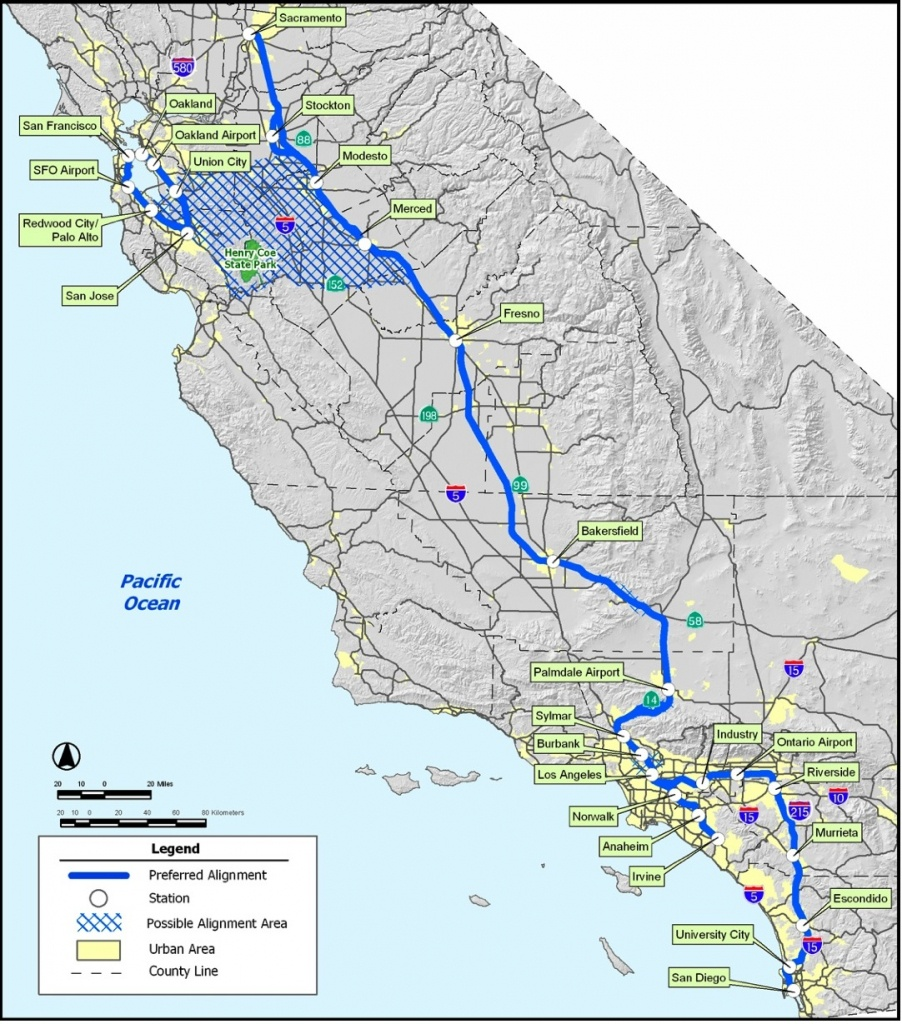 High-Speed Rail Part 5: The Cost Of California Hsr – The Antiplanner - California Bullet Train Map