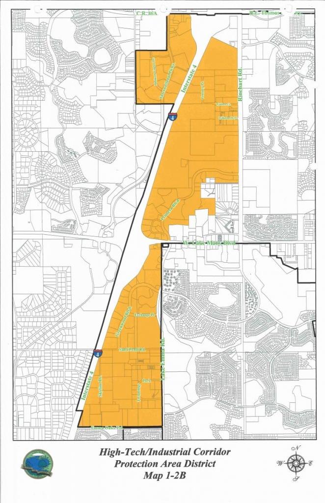 High-Tech/industrial Corridor | Lake Mary, Fl - Lake Mary Florida Map