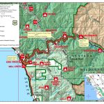 Highway 1 Conditions In Big Sur, California   California Highway 1 Map Pdf