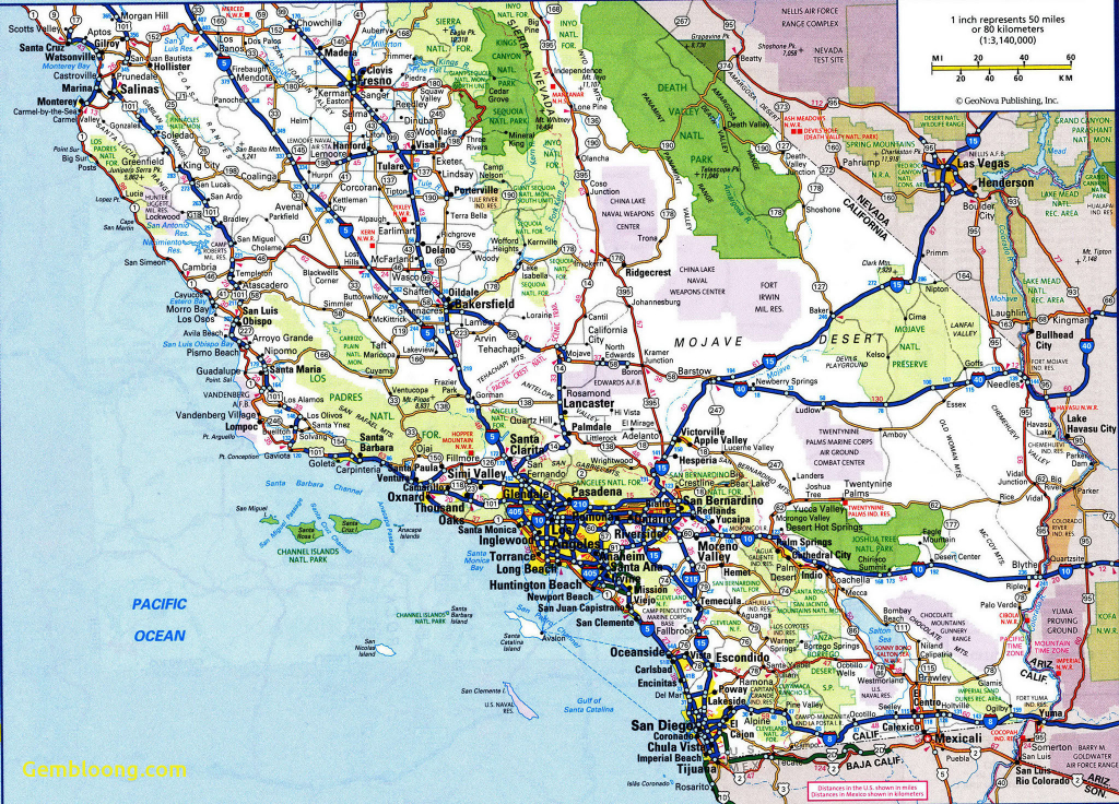 Highway Map Of Southwest Us Arizona Road Map New Traffic Map - Best California Road Map