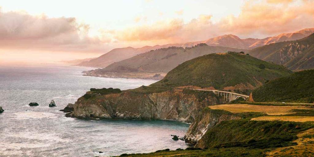Highway One Classic | Visit California - California Highway 1 Scenic Drive Map