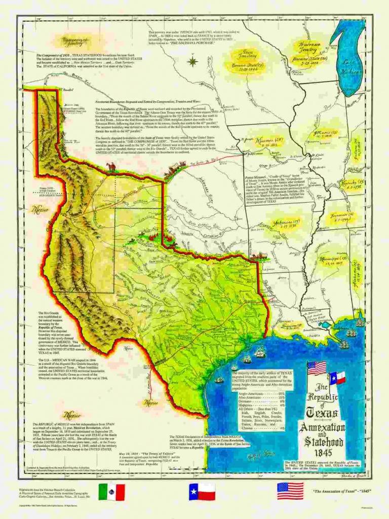Historical Texas Maps, Texana Series - Texas Map 1836