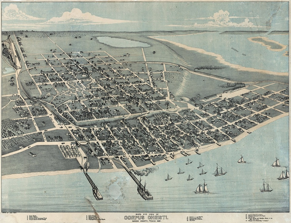 History Of Corpus Christi, Texas - Wikipedia - Google Maps Street View Corpus Christi Texas