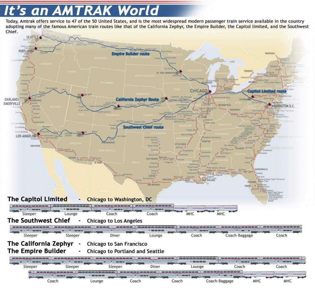 Ho-Scale Amtrak Superliner Cars - Kato Usa : Precision Railroad Models - Amtrak Texas Eagle Route Map