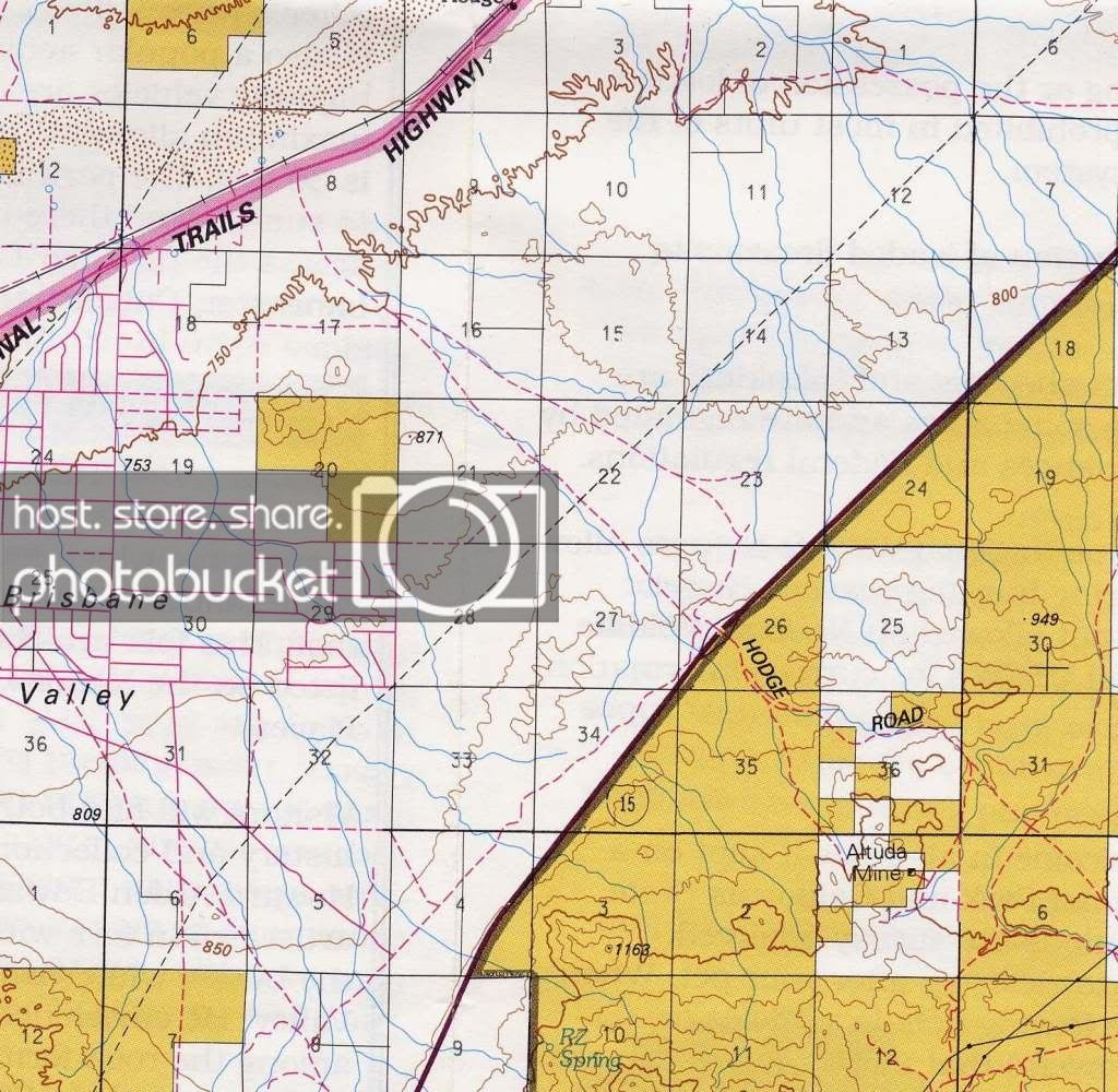 Hodge Rd. Barstow, Blm - Calguns - Blm Shooting Map Southern California
