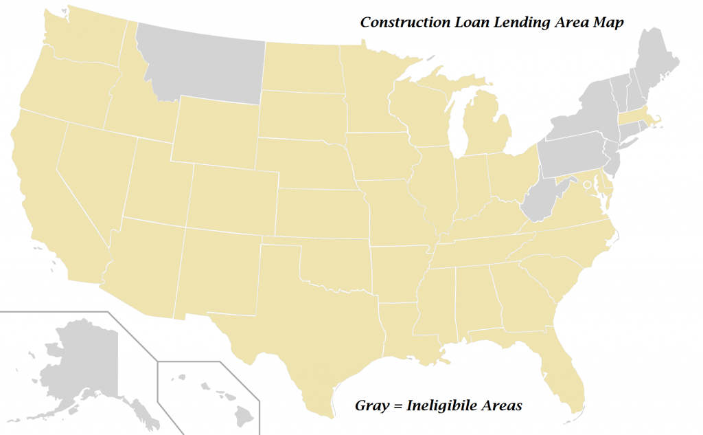 Home Construction Loans Available Texas | Construction, Renovation - Usda Home Loan Map Texas