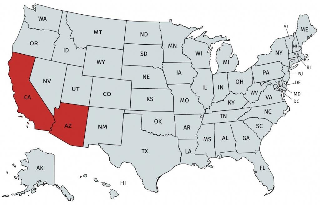 Home Loans In California And Arizona - Usda Loan Map California