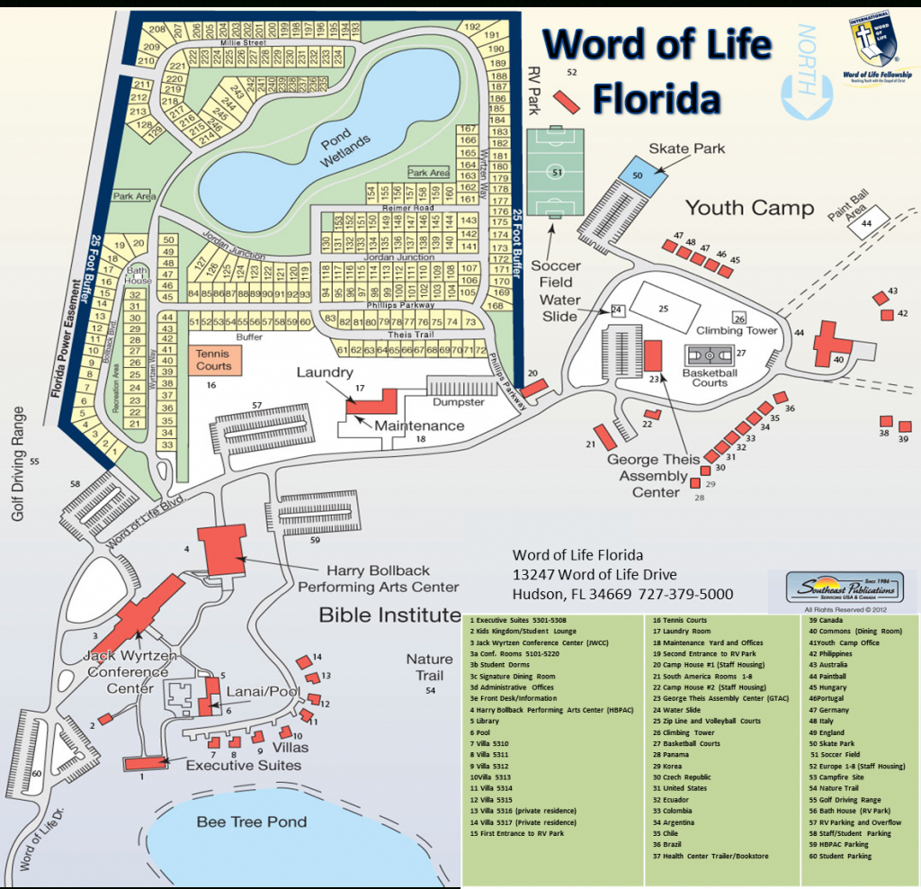 Home - Word Of Life Florida - Youth Camp, Bible Institute, Events - Google Maps Hudson Florida