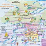 Hong Kong Maps: Tourist Attractions, Streets, Subway   Hong Kong Tourist Map Printable