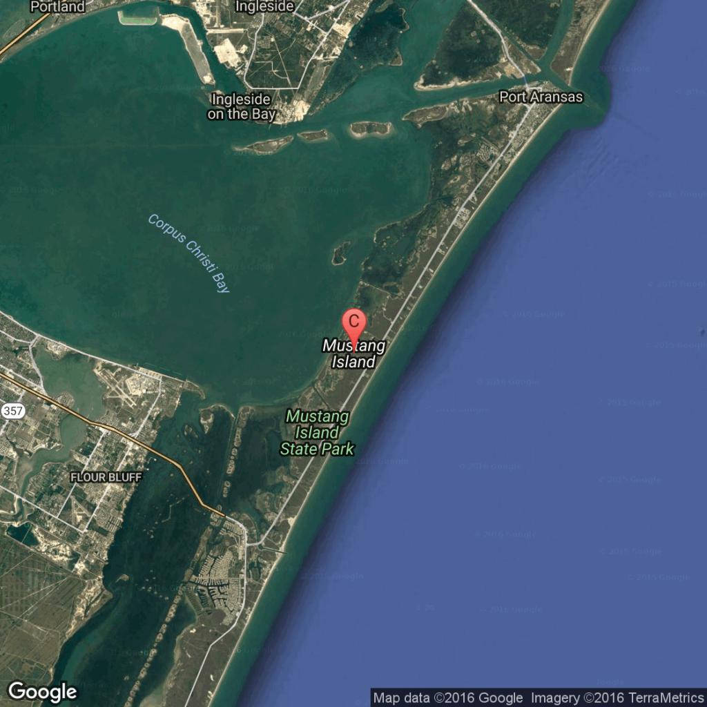Hotels In Mustang Island, Texas | Usa Today - Map Of Hotels In Port Aransas Texas