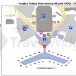 Houston Airport Map   Map Of Houston Airport (Texas   Usa)   Houston Texas Map Airports