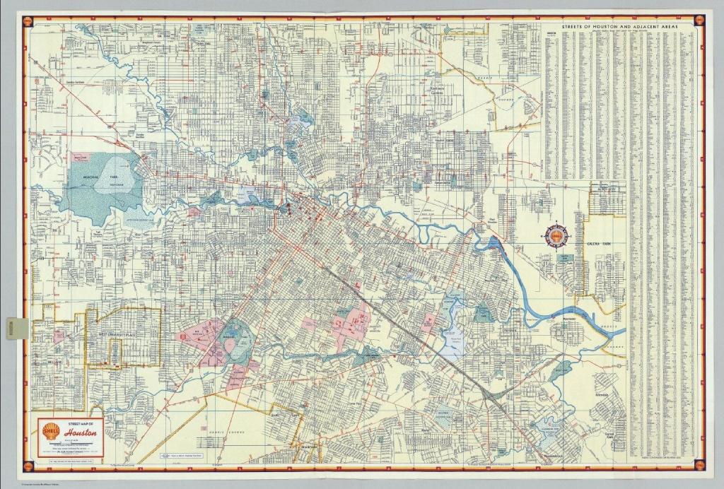 Houston Street Map - Street Map Of Houston (Texas - Usa) - Street Map Of Houston Texas