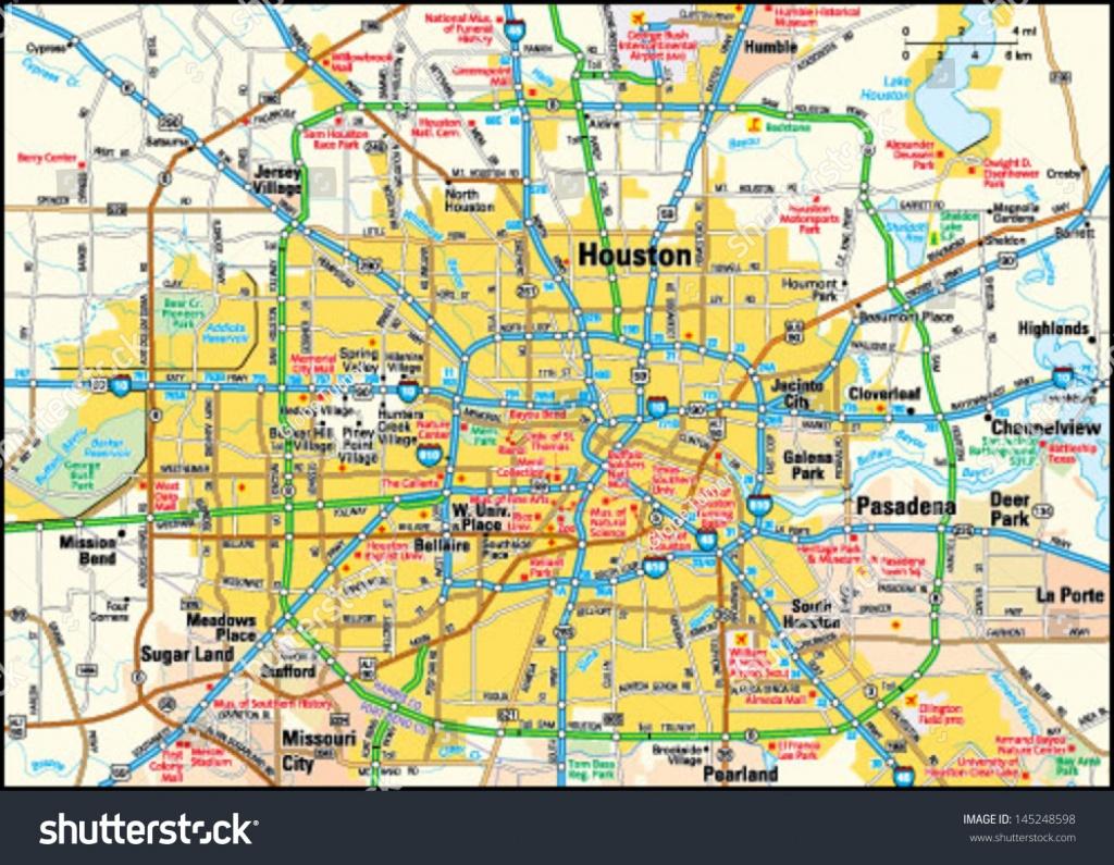Houston Texas Area Map | Business Ideas 2013 - Printable Map Of Houston