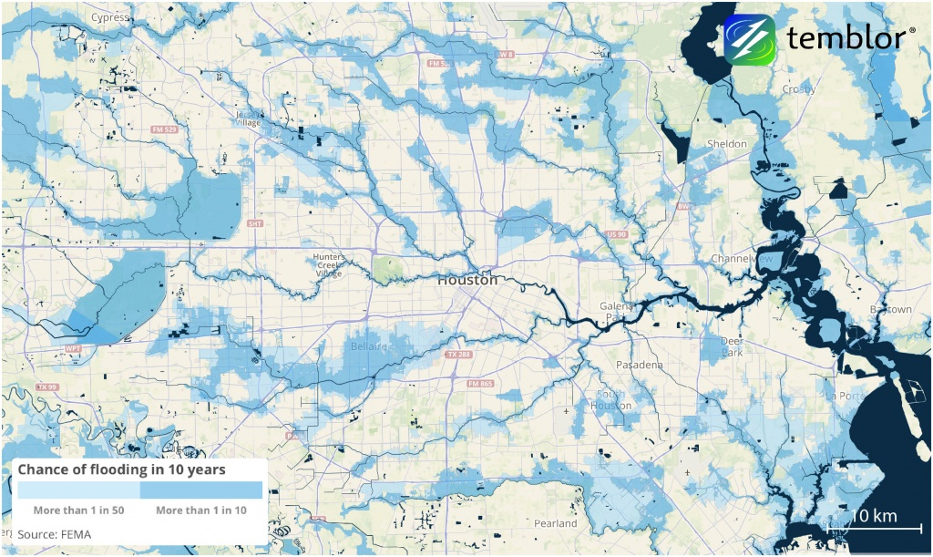 How Accurate Were The Flood Risk Maps? (Houston, West: Insurance - Fema Flood Maps Texas