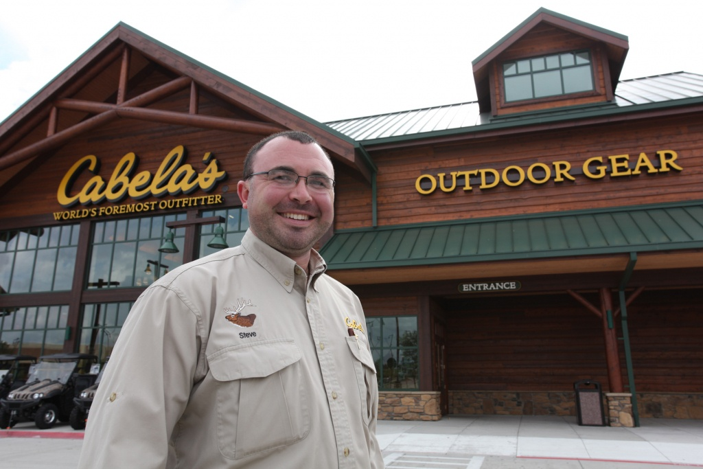 How Allen Served As A Test Market For Cabela's New Design - Smart - Cabelas In Texas Map