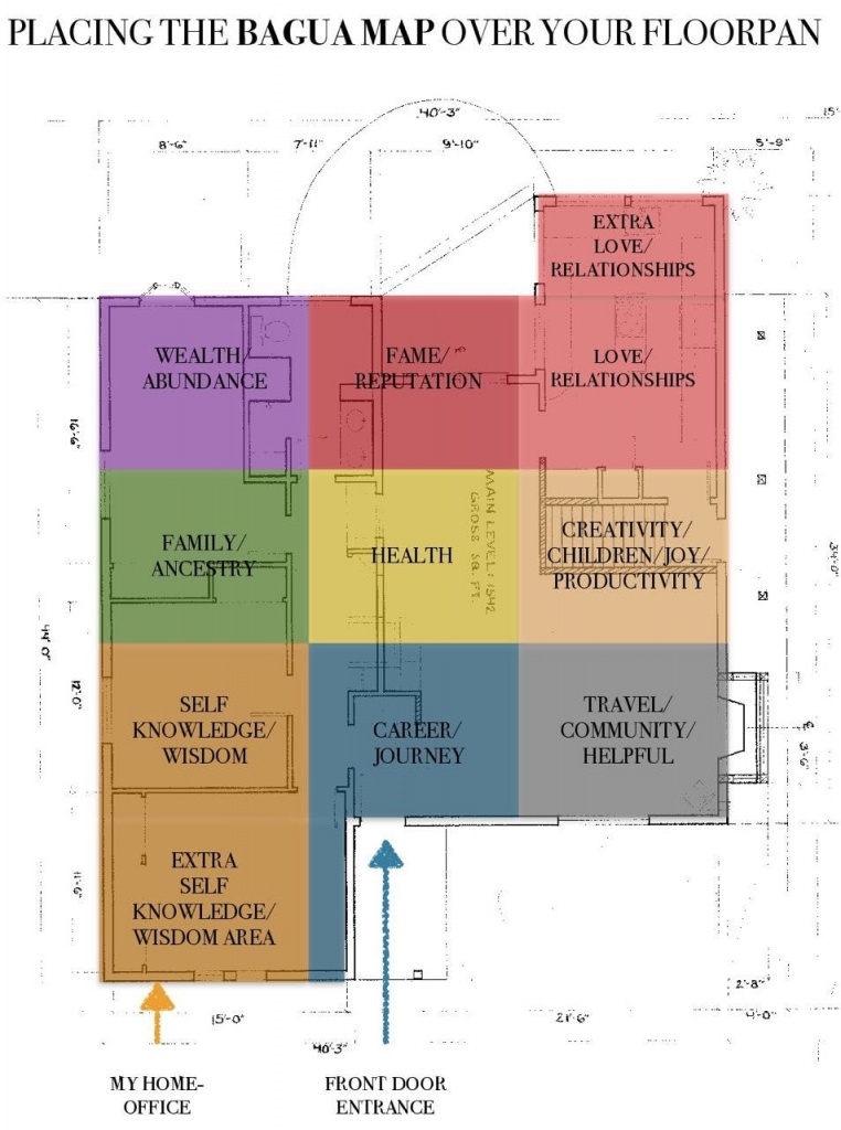 How Do I Align The Bagua Map Over My Floorplan? And Why Would I Do - Bagua Map Printable