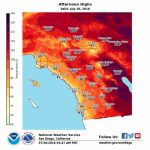 How Long Will Heat Wave Linger Over Southern California? – Orange   Heat Map Southern California