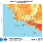 How Long Will Southern California Heat Last? – Daily News Inside Los   Heat Map Southern California