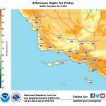 How Long Will The Heat Last In Southern California? – Orange County   Heat Map Southern California
