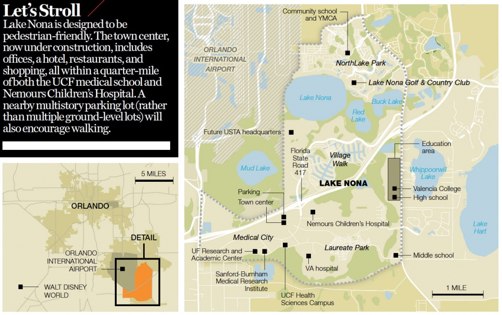 How To Build A Great American City | Fortune - Lake Nona Florida Map