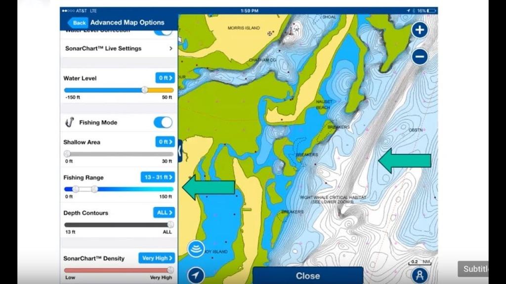 How To Find Fishing Spots Using Bottom Contour Maps [Navionics - Texas Fishing Hot Spots Maps