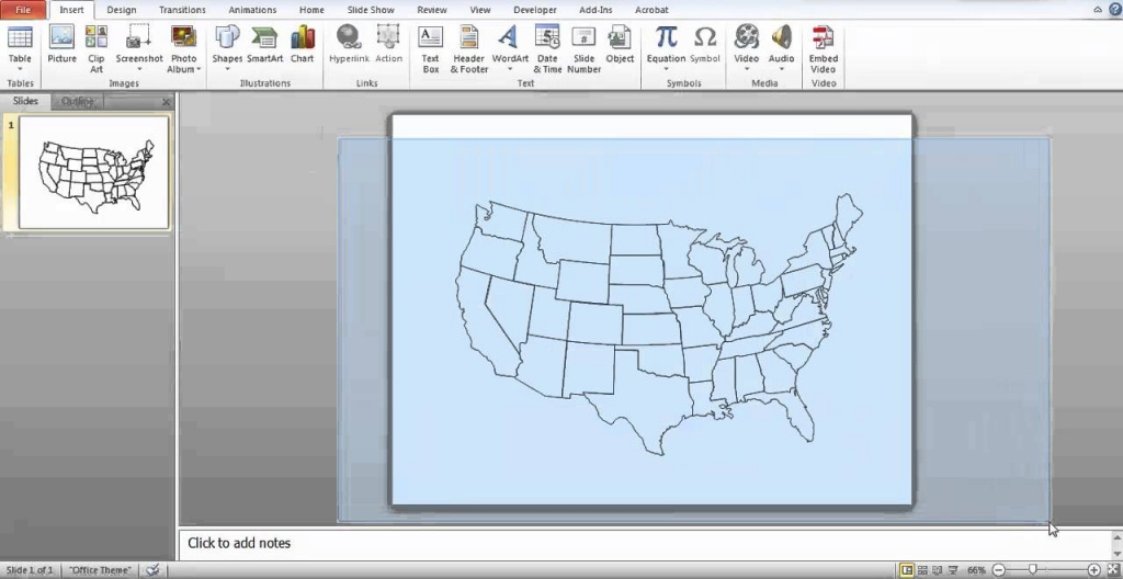 How To Make A Printable Map In Powerpoint - Youtube - How To Make A Printable Map