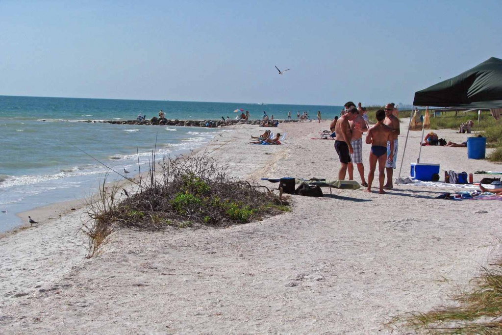 How To Reach Sunset Gay Beach In St. Petersburg - Map Of Tampa Florida Beaches