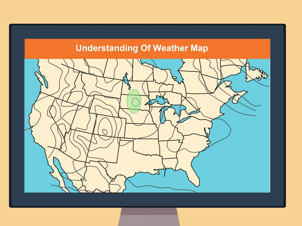 How To Read A Weather Map (With Pictures) - Wikihow - Printable Weather Map