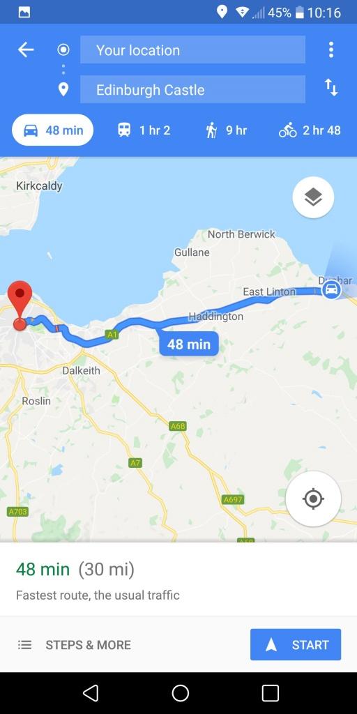 Printable Google Maps