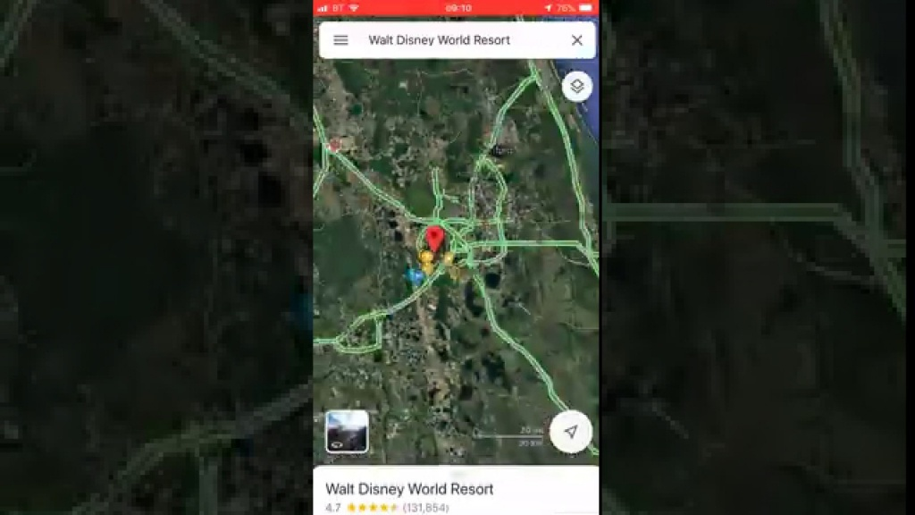 How To Use Google Maps Offline - Create Your Own Free Orlando Map - Sat Nav With Florida Maps