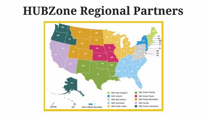 Hubzone Map California