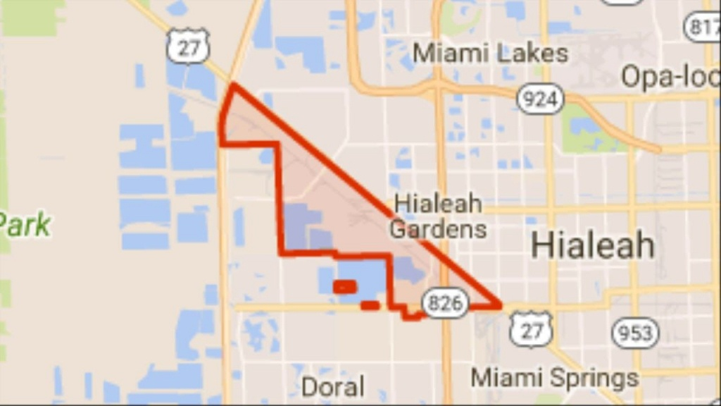 Hurricane Irma : Mandatory Evacuation Ordered For Medley Florida (Fl - Medley Florida Map