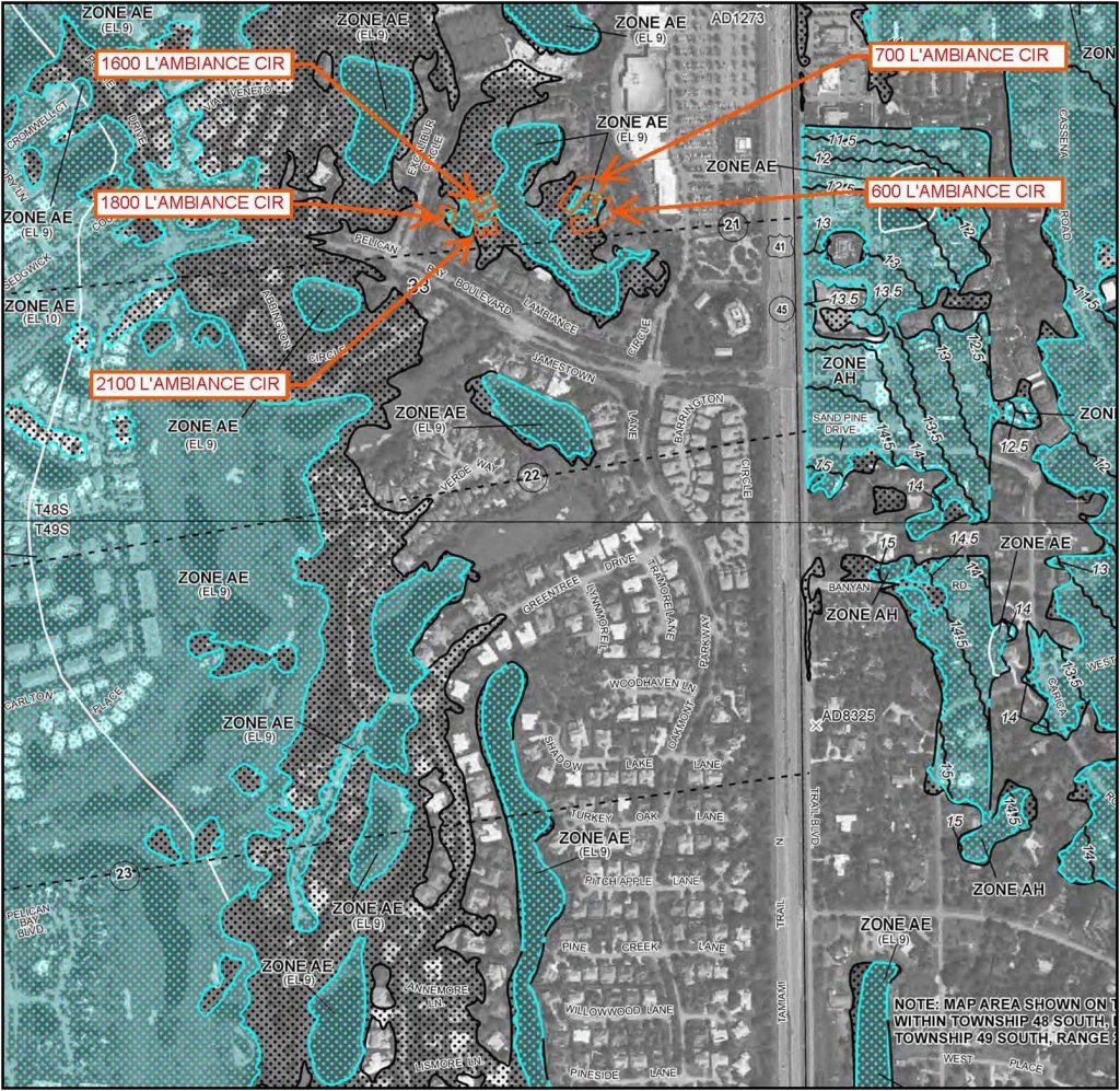 Hydrologic Analysis Southwest Florida Naples Fort Myers - Fema Flood Maps Lee County Florida