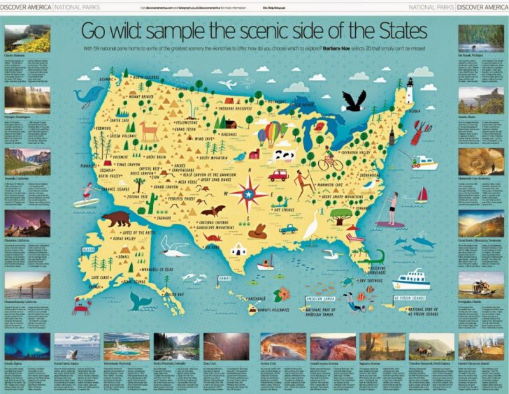 Printable Map Of Us National Parks