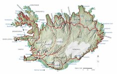 Iceland Maps | Printable Maps Of Iceland For Download   Free Printable Map Of Iceland