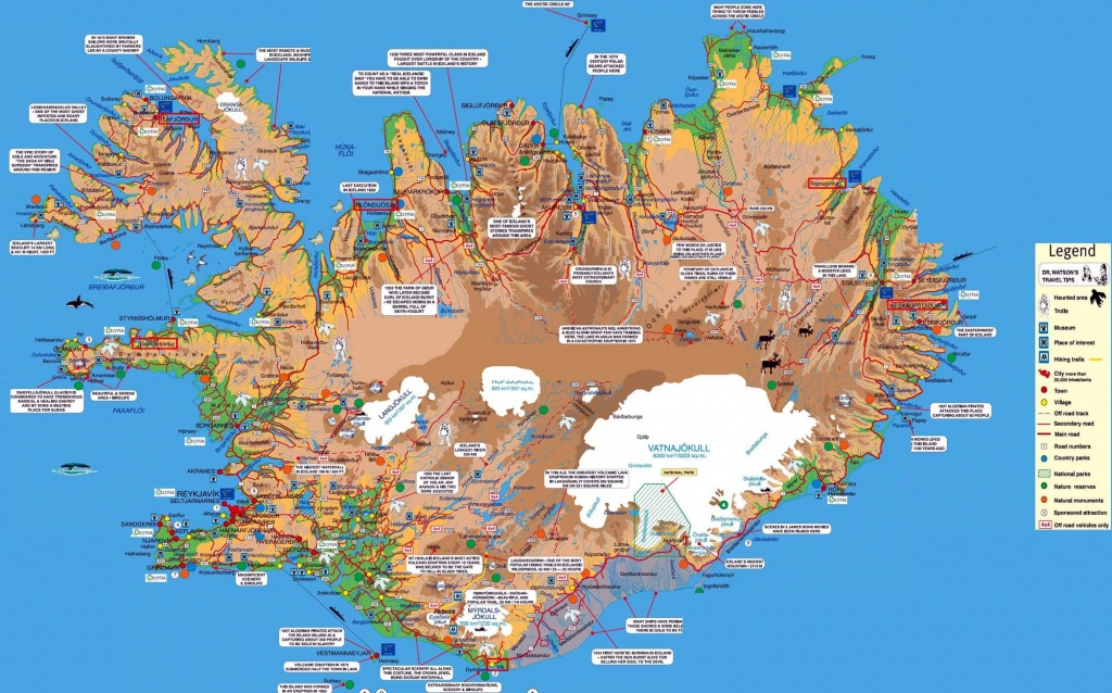 Iceland Maps | Printable Maps Of Iceland For Download - Printable Tourist Map Of Iceland