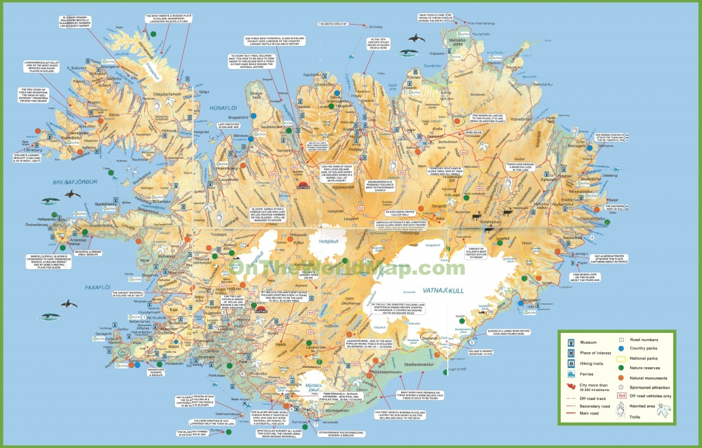 Iceland Tourist Map - Free Printable Map Of Iceland