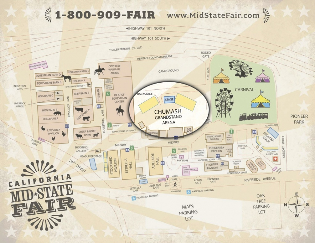 Ideas Of Mid State Fair Seating Chart Cool Tba July 20   Geotecsolar - Map Of California Mid State Fair