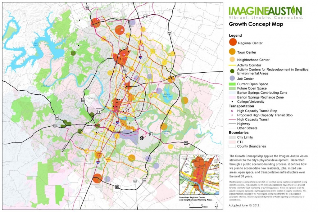 Imagine Austin Resources   Austintexas.gov - The Official Website Of - Austin Texas Map Downtown
