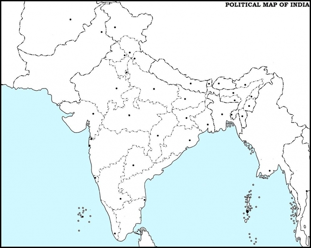 India Outline Map Pdf | Dehazelmuis - Physical Map Of India Outline Printable