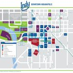 Indianapolis Downtown Map   Downtown Indianapolis Map Printable