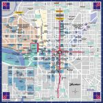 Indianapolis Downtown Map   Map Of Downtown Indy (Indiana   Usa)   Downtown Indianapolis Map Printable