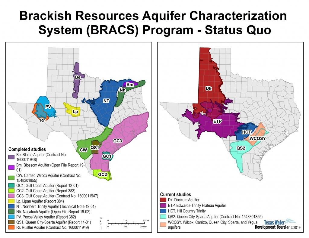 Innovative Water Technologies - Bracs | Texas Water Development Board - Texas Water Well Location Map